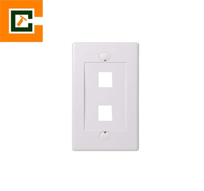 Picture of Wall Plates 2 Port CCT-5012-2P