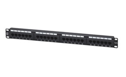Picture of Cat5-e 24 Port Patch Panel CCT-5ePP-24P