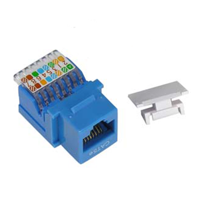 Picture of Cat5-e Keystone Jack Toolless CCT-5eKJT-B