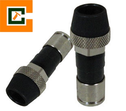 Picture of RG6 F Connector with Rubber CCT-RG6XLWR