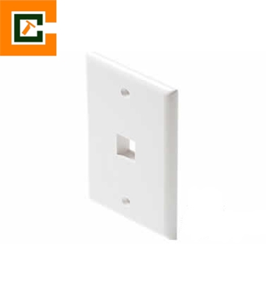 Picture of Single Port Faceplate   CCT-1FP