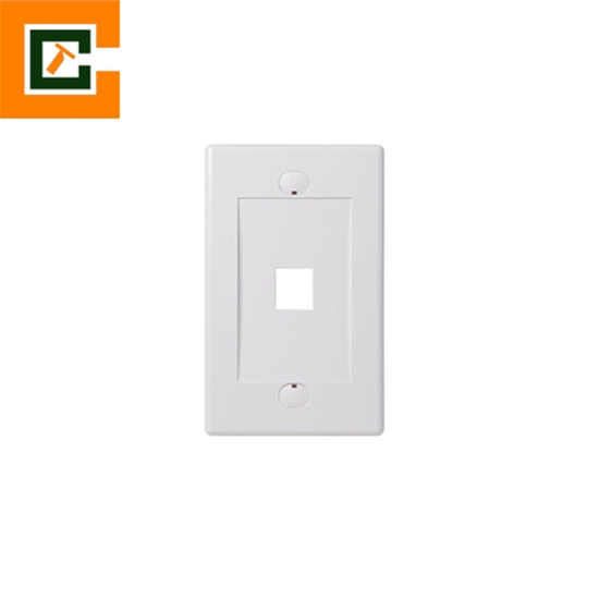 Picture of Wall Plates 1 Port CCT-5012-1P