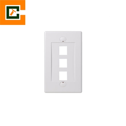 Picture of Wall Plates 3 Port CCT-5012-3P