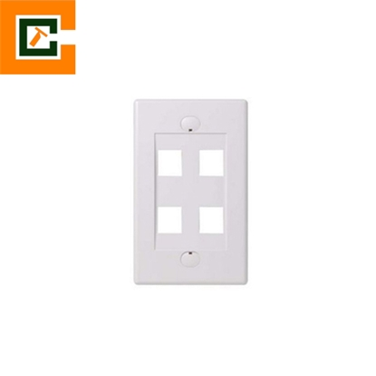 Picture of Wall Plates 4 Port CCT-5012-4P