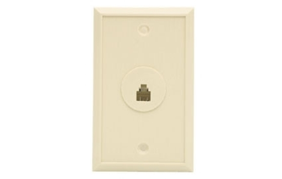 Picture of Single Telephone Wall Jack CCT-ACW706