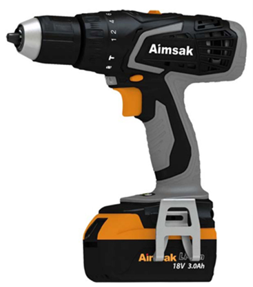 Picture of Aimsak Cordless Heavy Duty 18V Hammer Drill CCT-AH518T