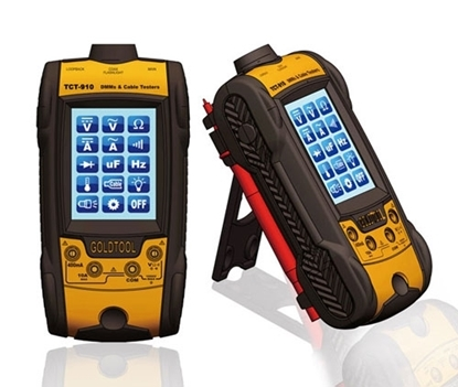 Picture of Digital Multimeter & Cable Tester   CCT-910
