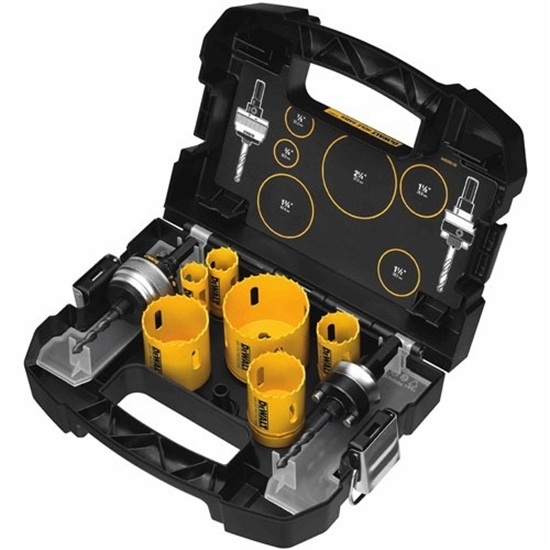 Picture of DeWALT Plumber's Hole Saw Kit  CCT-D180