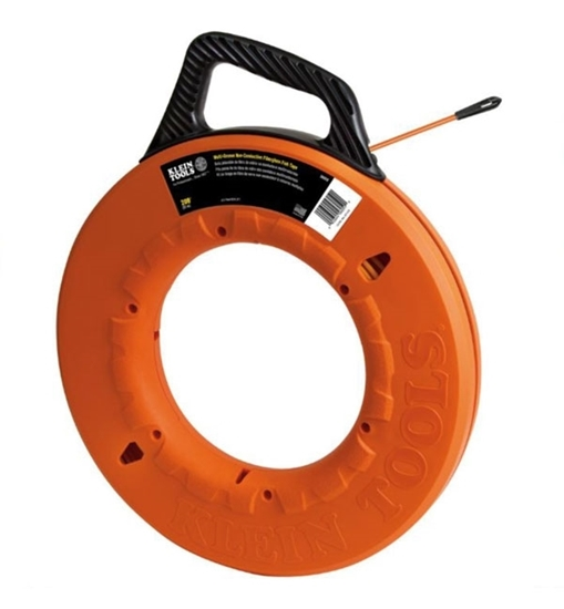 Picture of Klein Tools Fiberglass Fish Tape 200'  CCT-56059