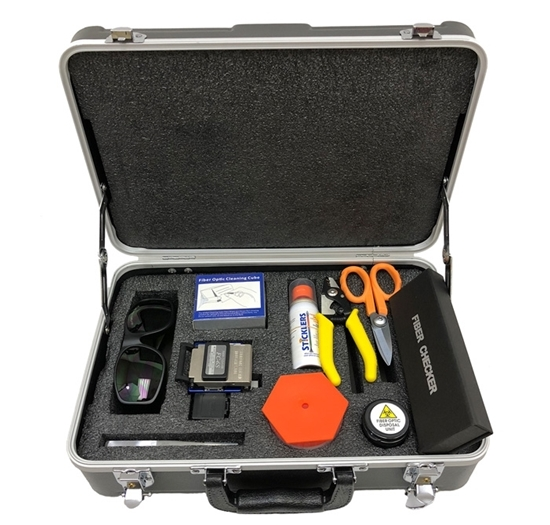 Picture of Fiber Optic Installers Tool Kit 2   CCT-FOTK2D
